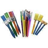 Plaid Craft Brush Pack, 44249 (25-Piece)