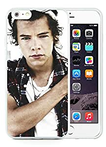 For iPhone 6 Plus,100% Brand New Harry Styles 1 White For iPhone 6 Plus(5.5) TPU Case
