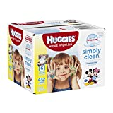 Huggies Simply Clean Fragrance Free Baby Wipes Retail, 432 Count