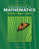 img - for Fundamentals of Mathematics (Ninth Edition with Interactive Video Skillbuilder CD-ROM ) book / textbook / text book
