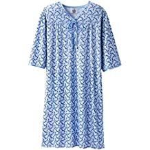 Womens Adaptive Hospital Gown Open Back Regular & Plus Sizes