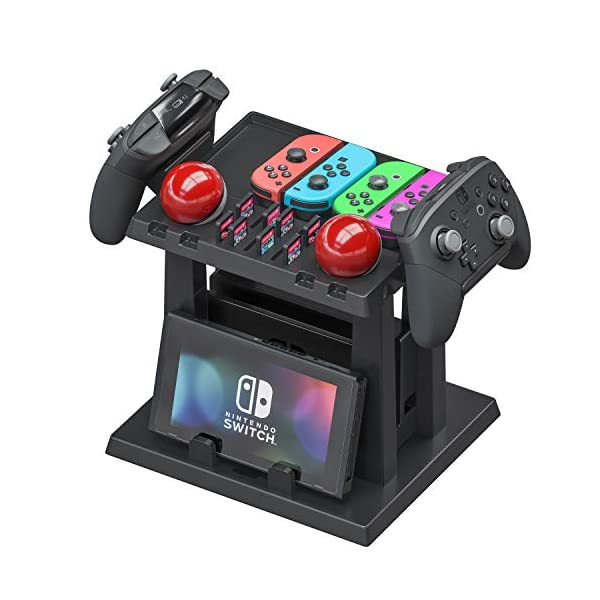 Skywin Organizer and Stand for Nintendo Switch - Storage Stand and Organizer Compatible with Nintendo Switch Accessories… 2