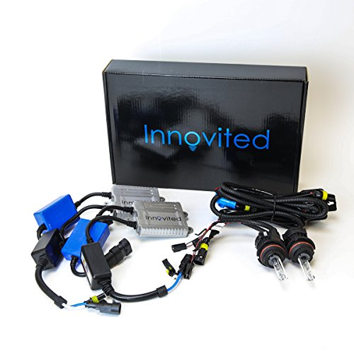 Innovited Premium AC Canbus HID Kit 100% Error Free No Flicker No Warning - 9004 9007 - 5000K Bi Xenon HI/LO HID