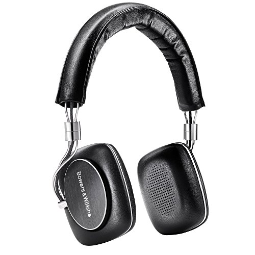 Bowers & Wilkins P5 Series 2 On Ear Headphones with HiFi Drivers, Wired, Black by Bowers & Wilkins