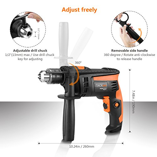 Review TACKLIFE PID01A Hammer Drill/drills