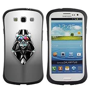 Suave TPU GEL Carcasa Funda Silicona Blando Estuche Caso de protección (para) Samsung Galaxy S3 I9300 / CECELL Phone case / / Vader Sci Fi Movie Character Space /