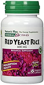 Natures Plus RED YEAST RICE 600 MG Vtapas 60