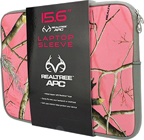 - Absolute Eyewear Solutions 5996 Laptop Sleeve Real Tree Pink Camo, 15.6 in.