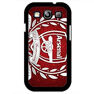 Arsenal Football Club Logo Phone Case Cover For Samsung Galaxy S3,Protective Black Hard Plastic Case For Samsung Galaxy S3