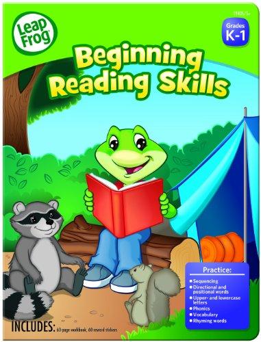 LeapFrog Beginning Workbook Preschool Stickers
