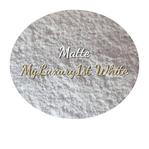 Matte Titanium Foundation - 1 Gram Matte White Titanium Dioxide Sample Pigment Powder for Soap and Cosmetic Making Products 1g Oil Dispersible