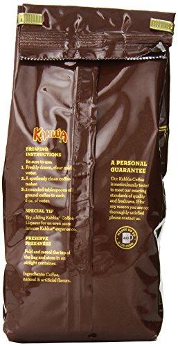 Kahlua Gourmet Ground Coffee, Mocha, 12 Ounce