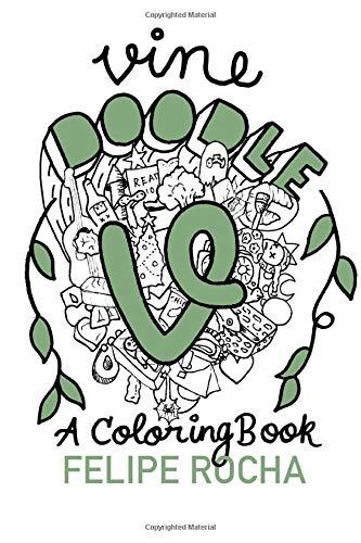 Vine Doodles Coloring Book Doodle product image