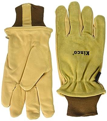 Kinco 035117009578 94Hk Split Grain Pigskin Ski Glove with Grain Pigskin Leather Palm, XX-Large, Single Pair