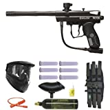 Spyder Victor Paintball Marker Gun 3Skull Mega Set - Black