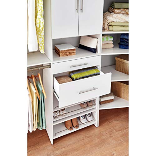 ClosetMaid 48745 SuiteSymphony Modern 25-Inch X 10-Inch Drawer, Pure White