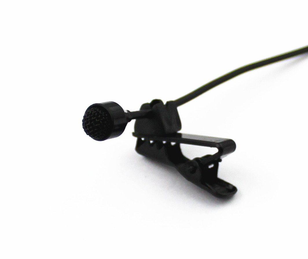 Pro JK MIC-J 044 Lavalier Lapel External Microphone Designed For ZOOM TASCAM Recording Devices - Standard Stereo 35MM Connector