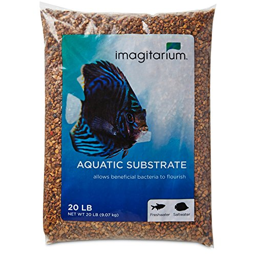 Imagitarium Aztec Bronze Aquarium Gravel, 20 LBS by Imagitarium