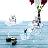Chuangdi Clear Acrylic Display Risers, Jewelry