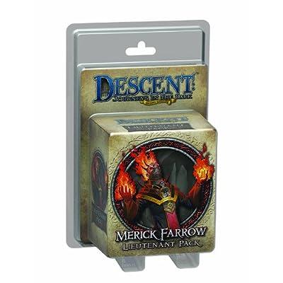 Descent Second Edition: Merick Farrow: Toys & Games [5Bkhe1003544]
