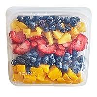 Bolsa de alimentos de silicona reutilizable Stasher, bolsa de sándwich, bolsa Sous vide, bolsa de almacenamiento, transparente