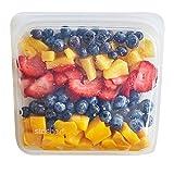 Stasher Reusable Silicone Food Bag, Sandwich Bag, Sous vide Bag, Storage Bag, Clear: more info