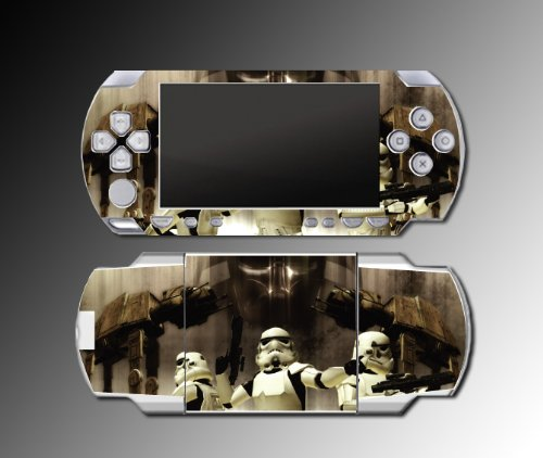 Star War Storm Trooper Darth Vader Empire Sith Video Game Vinyl Decal Skin Protector Cover Kit for Sony PSP 1000 Playstation Portable, Best Gadgets