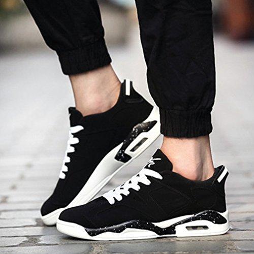 adulto negro LFEU botas Unisex de bajo caño xXwBXTOpqS