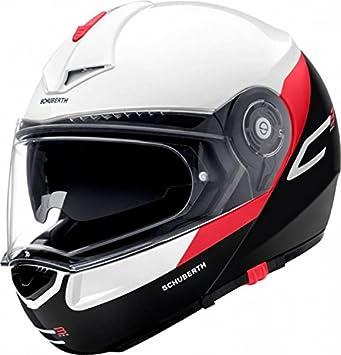 Schuberth C3 Pro Gravity Rojo Motocicleta Casco