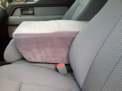 Custom Fits Ford F150, F250, F350 2004-2008 Pick-Up Truck Fleece Jump Seat Cover and Console Cover Will Protect New or Restore Worn Out Consoles
