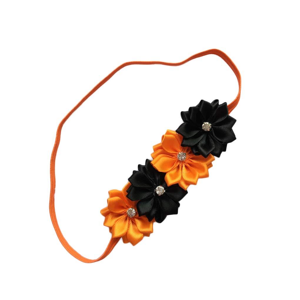 Set A Halloween Headband Hair Band with Bow Baby Girls Halloween Hair Accessories CH01