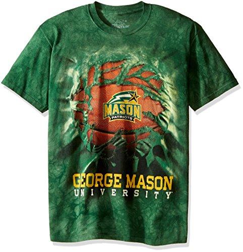 - The Mountain Men's George Mason University Basketball Breakthrough 2 Text, Green, S