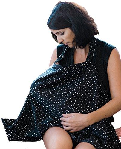 Great fashion Style 100% cotton nursing cover breastfeeding- AZO Free