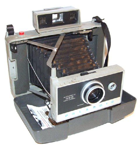 For Parts - Vintage Polaroid 330 Folding Land Camera Instant Camera