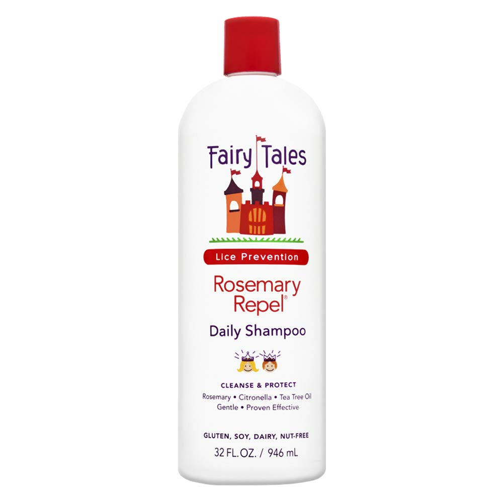 Fairy Tales Rosemary Repel Daily Kid Conditioning Spray Refill for Lice Prevention - 32 oz Deva Concepts - DROPSHIP ROSELISP32