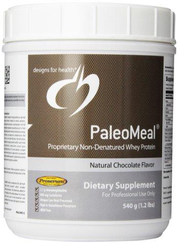 Poudre Paleomeal Drink Mix chocolat 540g par des conceptions de la santé