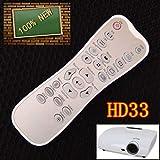 Calvas New remote control for Optoma HD25E HD25-LV HD20-LV HD32 HD33 HD25 Projector