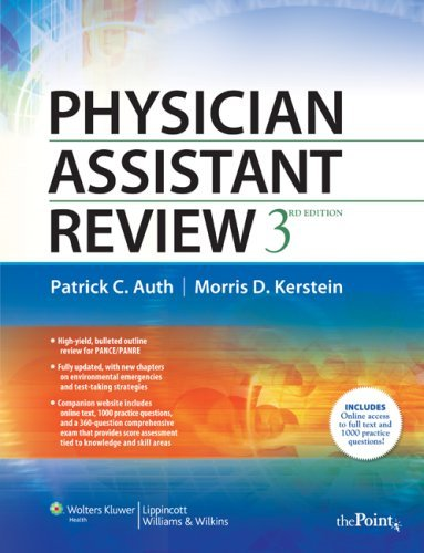 By Patrick C. Auth - Physician Assistant Review: 3rd (third) Edition