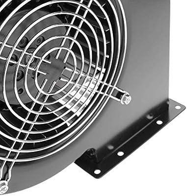 PrimeMatik - Extractor de Aire centrífugo Radial para ventilación Industrial 2600 RPM Cuadrado 202x180x115 mm: Amazon.es: Electrónica