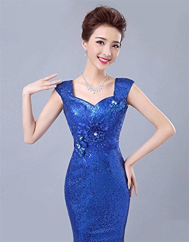 Blau Kleid Drasawee Drasawee Damen Schlauch Damen Schlauch wXqYpT84n