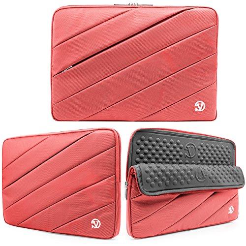 VanGoddy Universal Nylon Hybrid Sleeve Laptop Bag for HP Pavilion 11t / 11.6 / EliteBook Revolve 810 G1 / Dell Inspiron 11.6 Fits up to 12.5