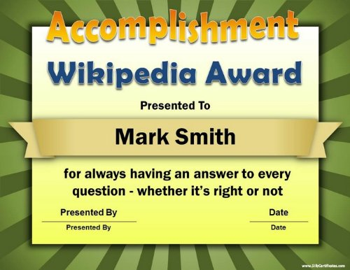 Silly Certificate Software - Customize and Print 101 Fun Office Awards -  FREE Bonus If You Order Now