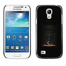 MOBMART Slim Sleek Hard Back Case Cover Armor Shell FOR Samsung Galaxy S4 Mini i9190 - Portal Design