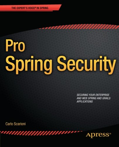 Price comparison product image Pro Spring Security