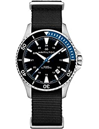 H82315931 Khaki Navy Scuba Men's Watch Black 40mm Stainless Steel