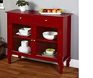 Astounding Layla Red Buffet This Furniture Buffet With Its Unique Queen Ann Legs Is The Perfect Addition To Any Dining Area Or Kitchen Download Free Architecture Designs Jebrpmadebymaigaardcom