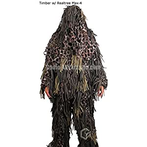 Jackal Ghillie Suit (Timber w/Realtree Max4, XL/XXL)