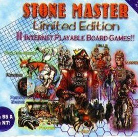 Stone Master Classic – 8 Board Game Pack CD-Rom (Win95) Go / Gomoku; Renju, Mills / Fox & Geese / Pirates ; Hex and Wild…