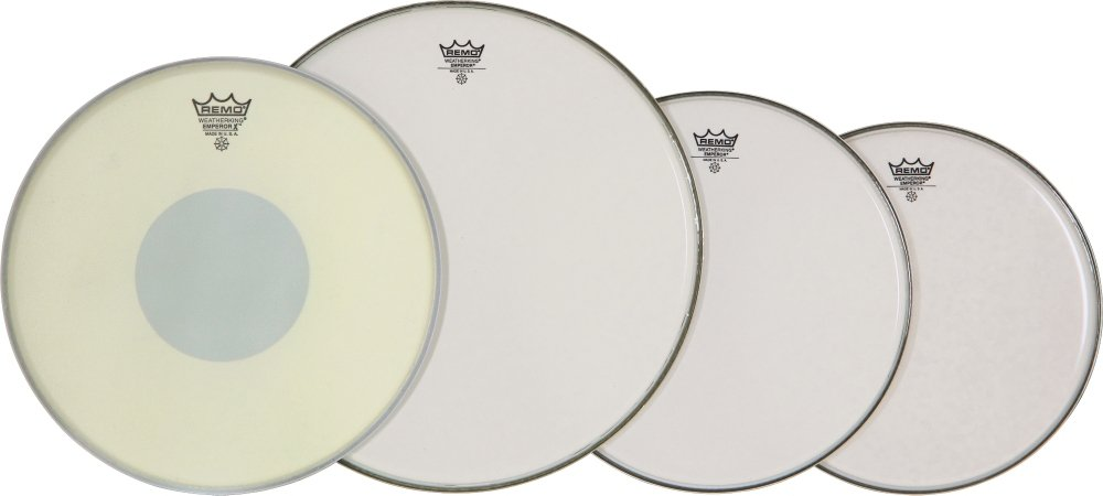 Remo PP0830-BX Smooth White Emperor ProPack Plus 14-Inch Emp X Snare Head KMC Music Inc