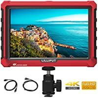 LILLIPUT A7S 7 inch IPS On-Camera Monitor with 4K HDMI Input Output, 1920x1200 Field Monitor for DSLR and Mirrorless Camera with Histogram False Color Peaking